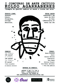I Concurso de Arte Crítico Koldo Agarraberes