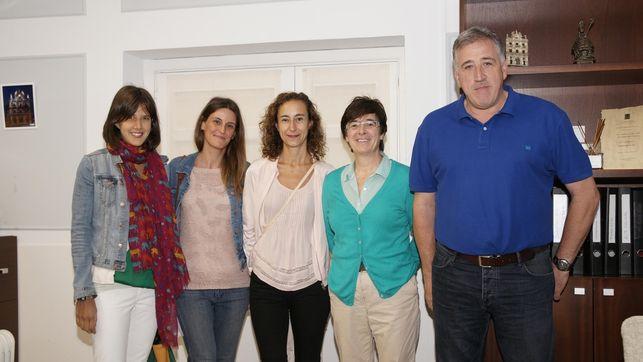 Primer encuentro de la Coordinadora de ONGD con la concejala de Bienestar Social e Igualdad del Ayuntamiento de Pamplon, Edurne Eguino
