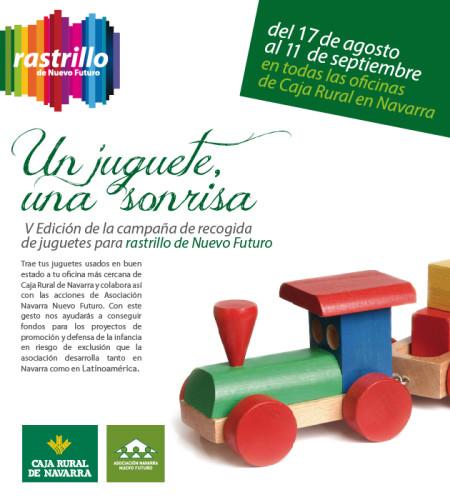 """Campaña """"Un juguete, una sonrisa"""", de Nuevo Futuro"""
