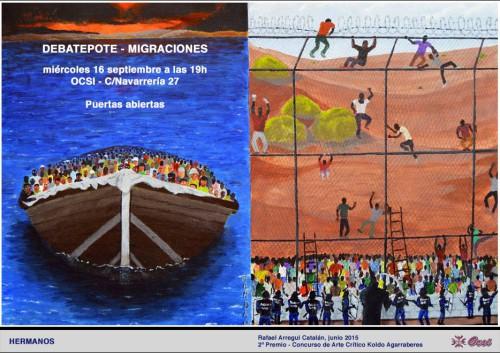 DebatePote Migraciones OCSI