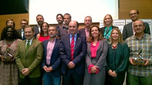 La Fundación Felipe Rinaldi y Fátima Djarra (activista contra la mutilación genital femenina y miembro de Médicos del Mundo) Premios Solidarios Onda Cero