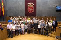Las organizaciones sociales tomamos el Parlamento de Navarra para dar a conocer los ODS-Objetivos de Desarrollo Sostenible