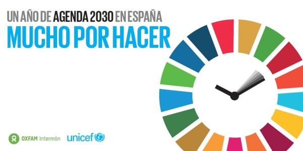 La Agenda 2030 en España: mucho por hacer