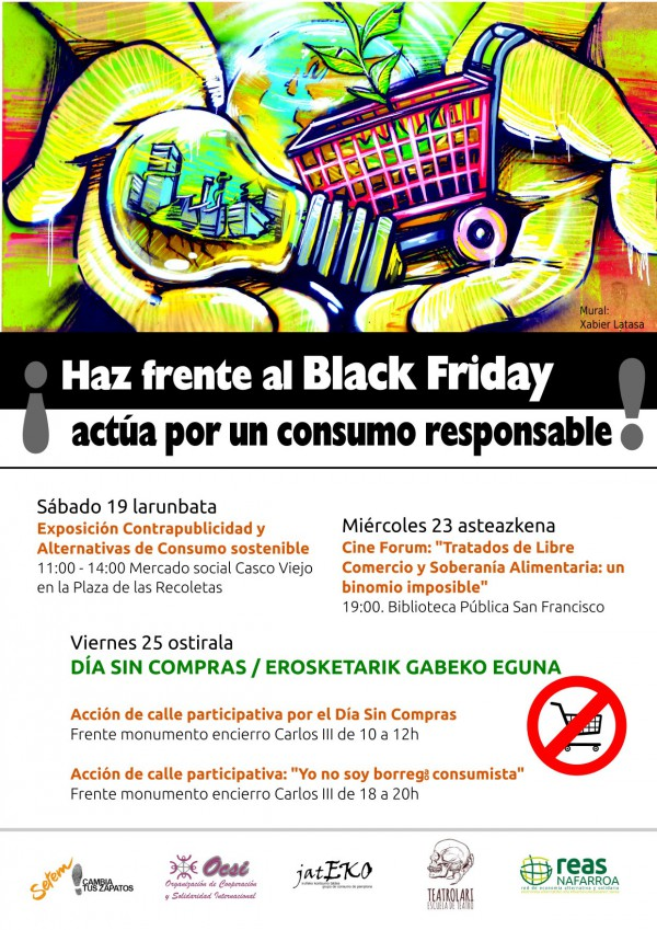 Viernes 25 de noviembre, día sin compras