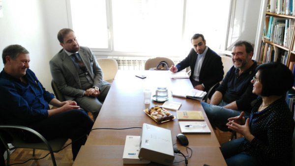 Nos visita el representante del Gobierno Regional del Kurdistán-Irak en España