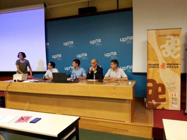 14J: VIII Encuentro Escuelas Solidarias en la UPNA