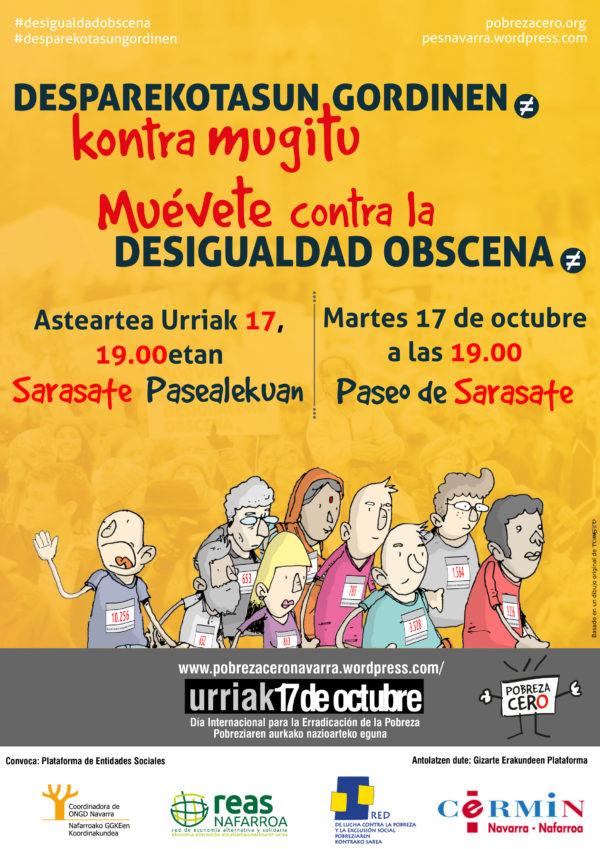 Participa el 17 de Octubre en la semana de acción contra la pobreza