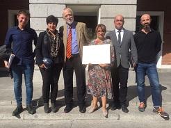 """El CEIP de Ujué, galardonado en la IX edición del Premio Nacional de Educación para el Desarrollo """"Vicente Ferrer"""""""