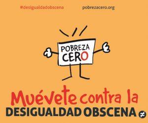 Arranca la Semana de Acción contra la Desigualdad Obscena #desigualdadobscena