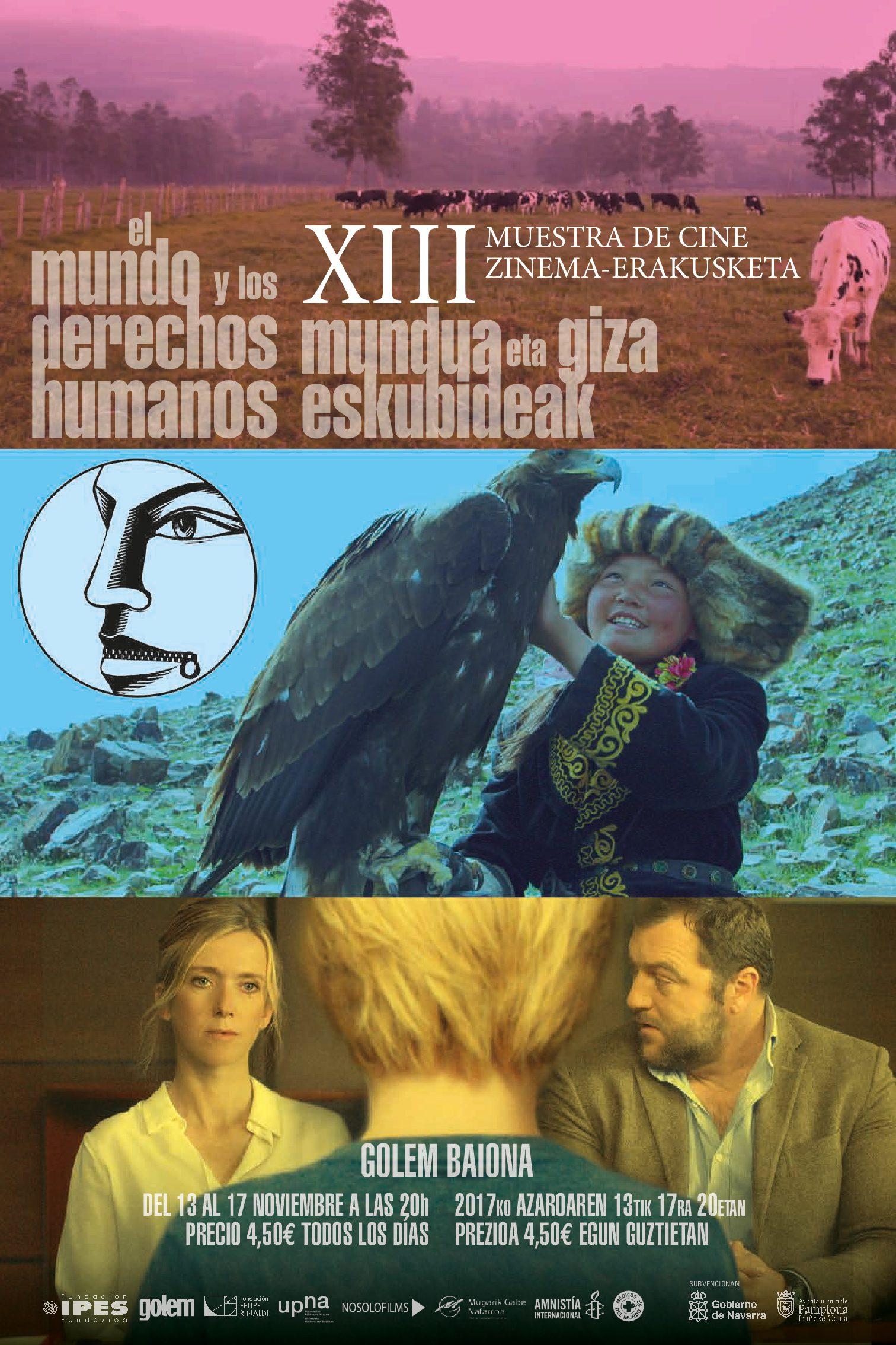 XIII Muestra de Cine, el Mundo y los Derechos Humanos.