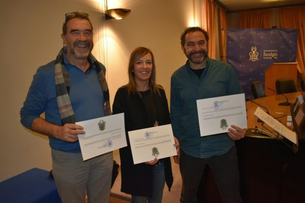 3 ONGD de la Coordinadora distinguidas por el Ayuntamiento de Barañain