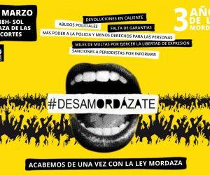Contra la Ley Mordaza (17 de Marzo movilízate)