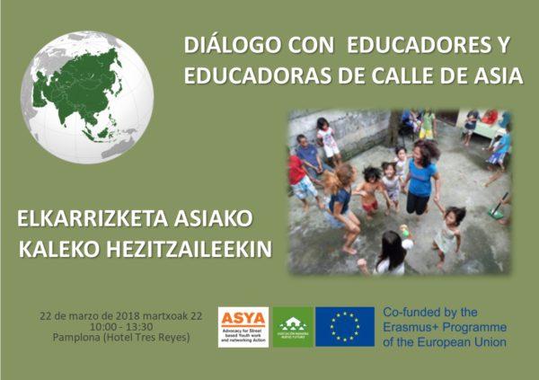Jornada sobre educación de calle Iruña-Pamplona