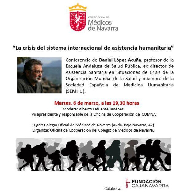 """Conferencia """"La crisis del sistema internacional de asistencia humanitaria"""""""