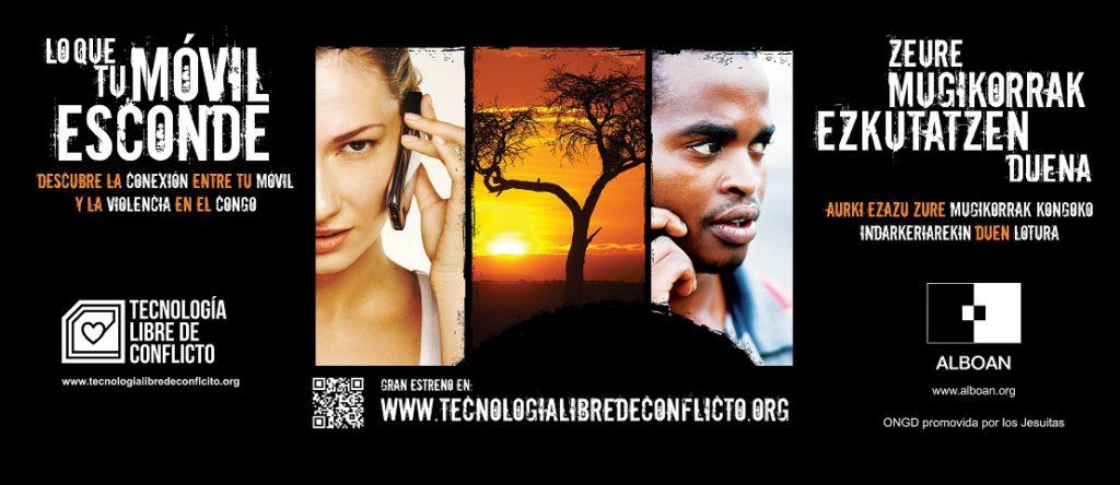 Tecnología libre de conflictos. Lo que tu móvil esconde