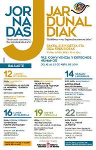 III Jornadas de Paz, Convivencia y Derechos Humanos (del 12 al 22 de Abril) @ Baluarte | Falfurrias | Texas | Estados Unidos