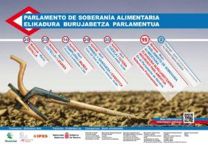 Parlamento de Soberanía Alimentaria en las 5 Merindades de Navarra @ Parlamento de Navarra   Pamplona   Navarra   España