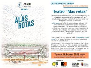 "Teatro ""Alas rotas"" @ Casa de la Juventud. Pamplona | Pamplona | Navarra | España"