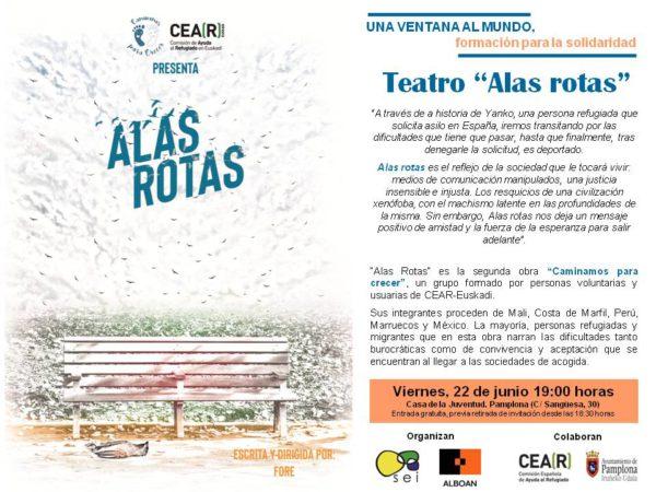 """Teatro """"Alas rotas"""""""