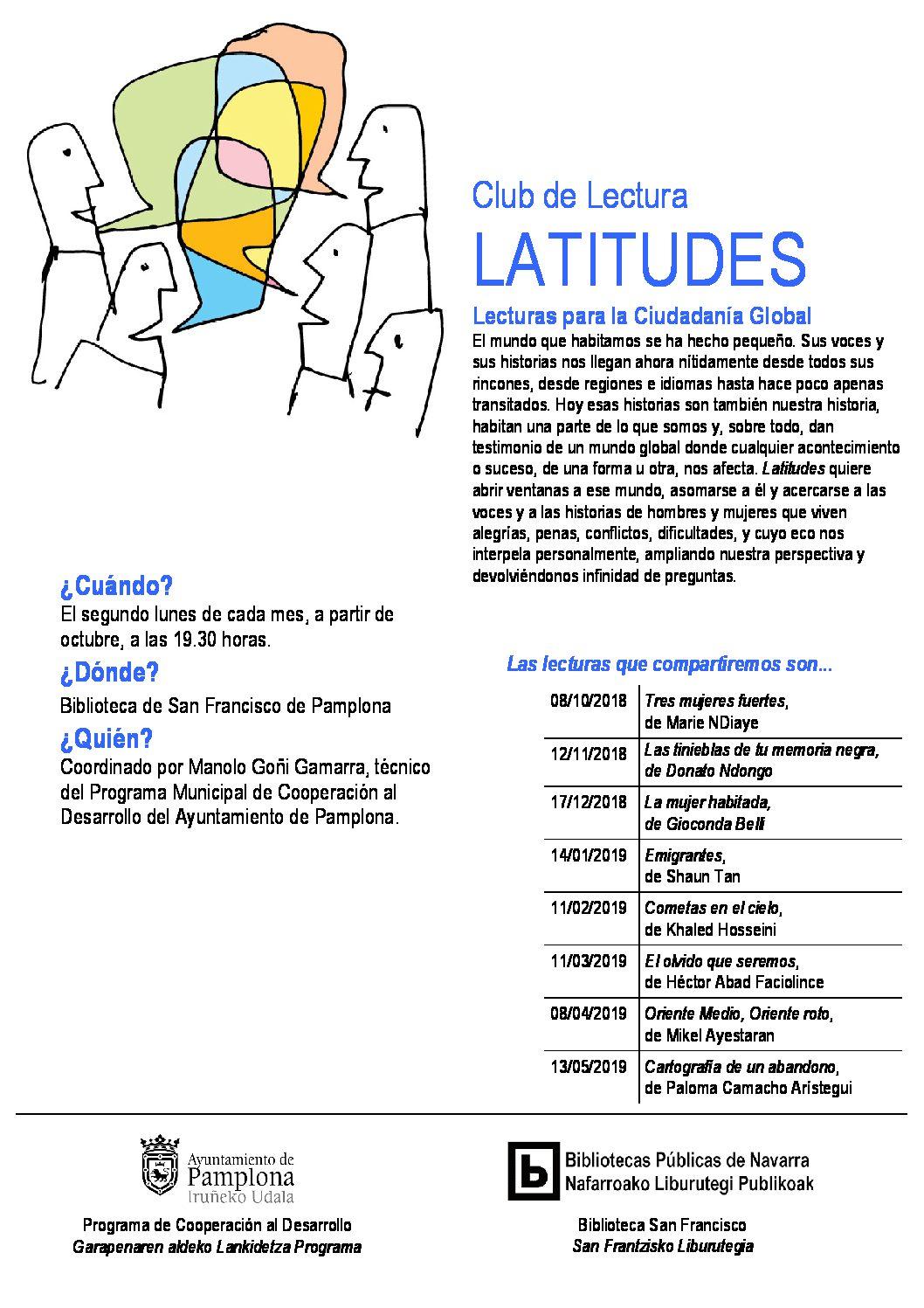 "Club de lectura ""Latitudes"""