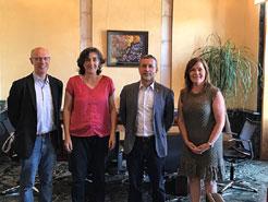 Firma de un Convenio entre Gobierno de Navarra y la Coordinadora de ONGD de Navarra