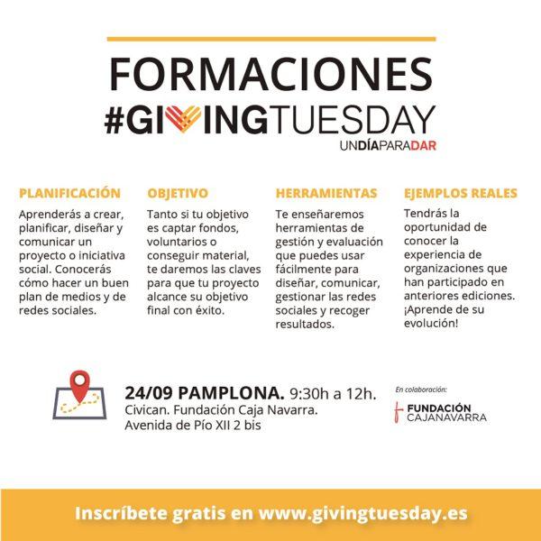 Formaciones #GivingTuesday