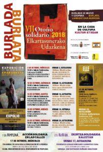VII Otoño Solidario/ Elkartasunerako Udazkena (3 al 24 Octubre) @ Sala de Cultura de Burlada   Burlada   Navarra   España