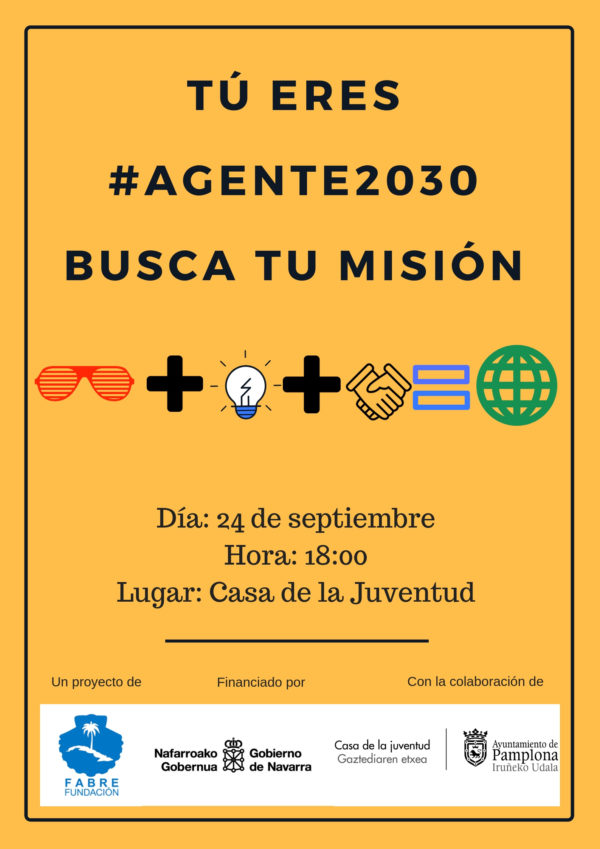 Tú eres #Agente2030 busca tu misión