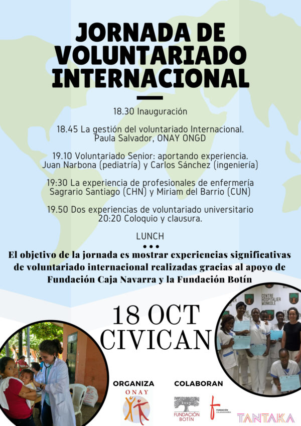 Jornada de Voluntariado Internacional.