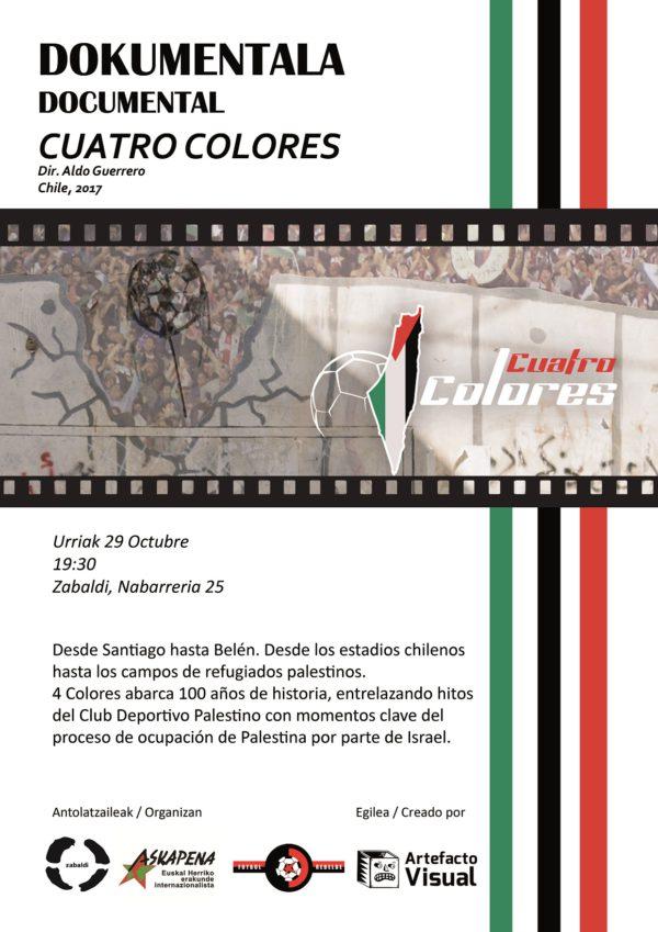 "Documental ""Cuatro colores"""