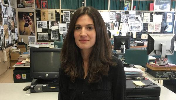 Ainhoa Piudo, periodista de Diario de Navarra, premio Teobaldo por la defensa de los derechos humanos
