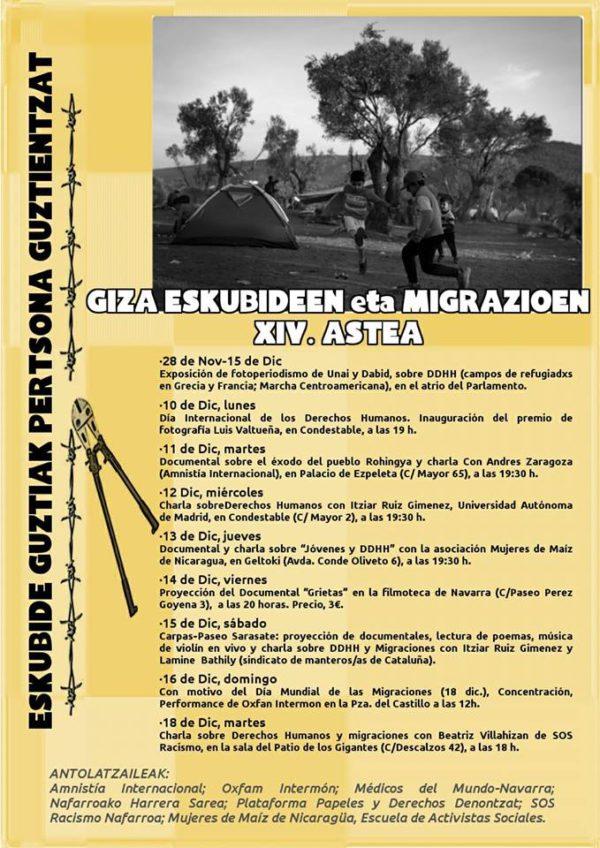 Todos los derechos para todas las personas' en la XIV Semana de Derechos Humanos y Migraciones