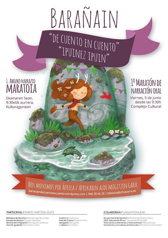 Maratón de cuentos en Barañain