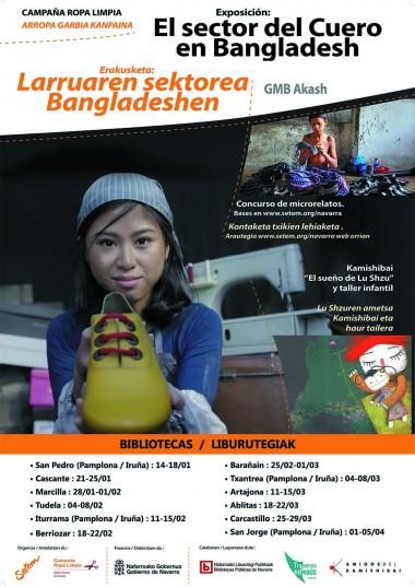 """Exposición itinerante """"El sector del cuero en Bangladesh"""" (+Kamishibai+ Taller muñecas)"""