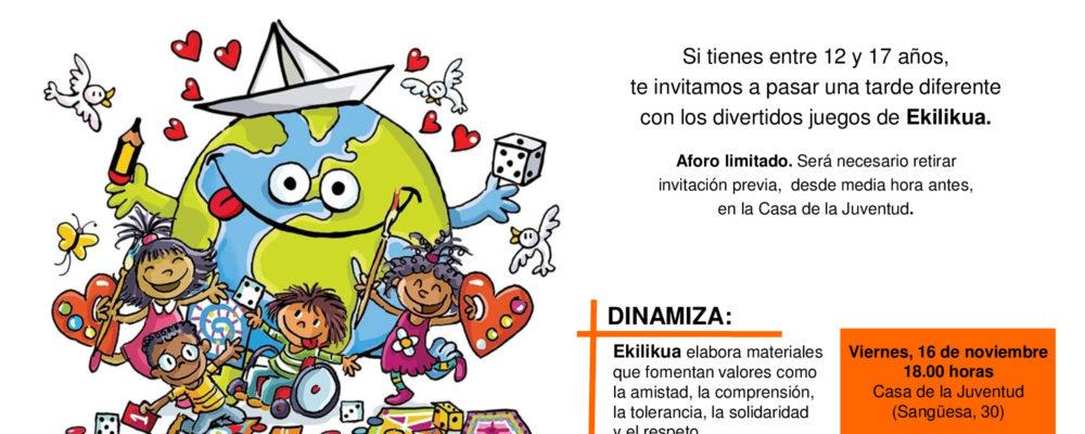 Taller De Juegos Cooperativos Coordinadora Ong Navarra