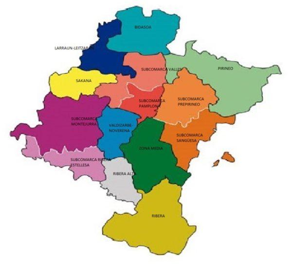 La Cooperación Internacional realizada por la Entidades Locales de Navarra 2017. Nuevo mapa web
