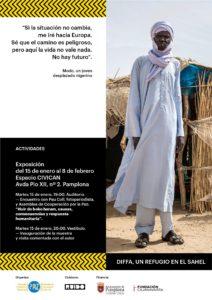 """Exposición """"Diffa una carretera a ninguna parte"""" (exposición y encuentro con el autor) @ Civican"""