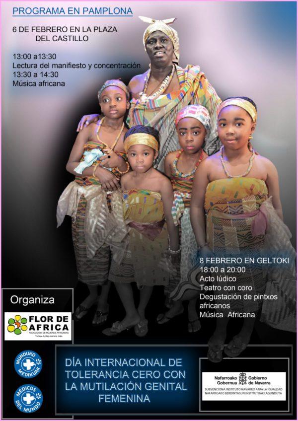 Dia Internacional de Tolerancia Cero contra la Mutilación Genital Femenina (Pamplona 6 Febrero y Tudela 2 de Febrero)
