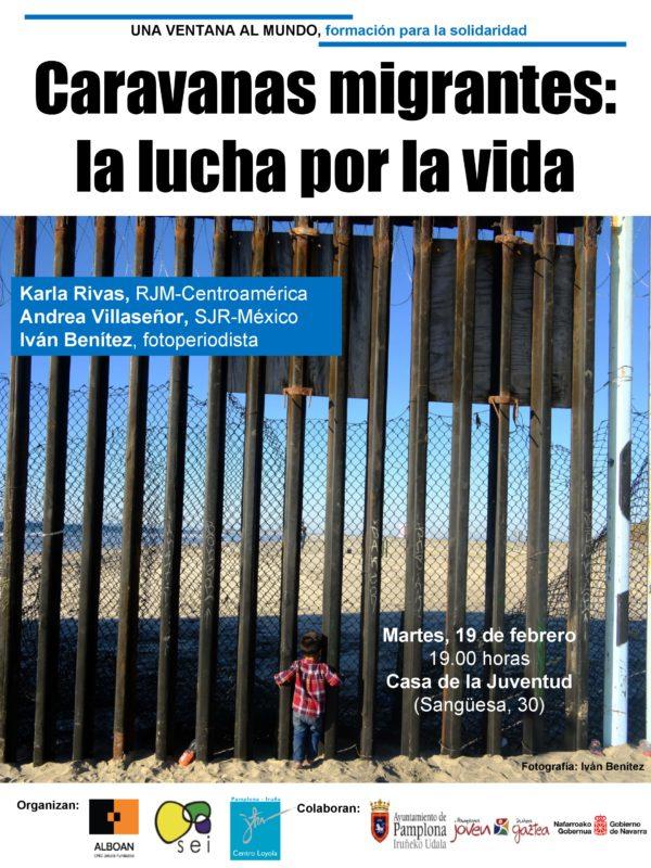 """Charla """"Caravanas migrantes: la lucha por la vida"""""""