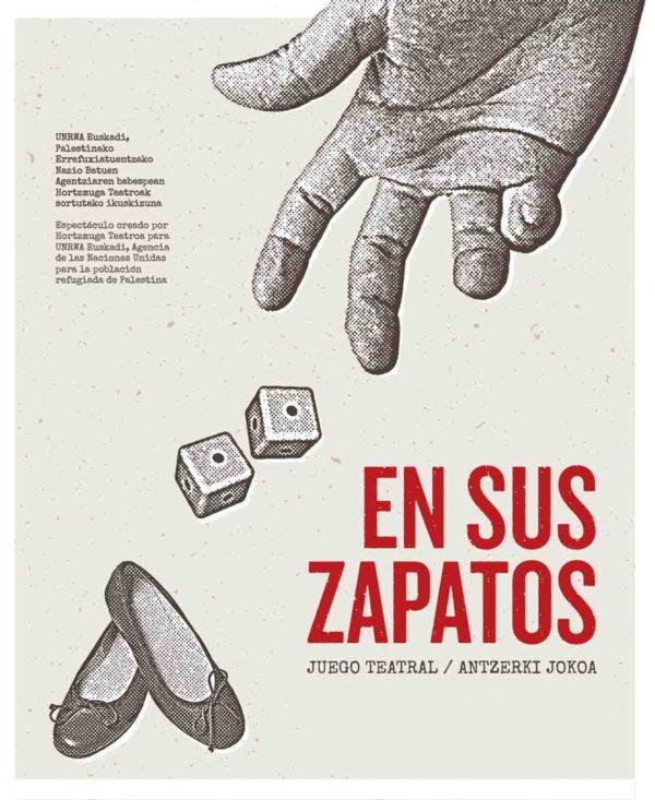 """Obra teatral """"En sus Zapatos"""" (Pamplona, Arraitz y Villava)"""