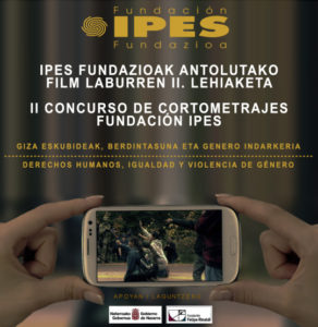 II edición Concurso de Cortometrajes Fundación IPES Fundazioak antolatutako Film Laburren II. Lehiaketa.