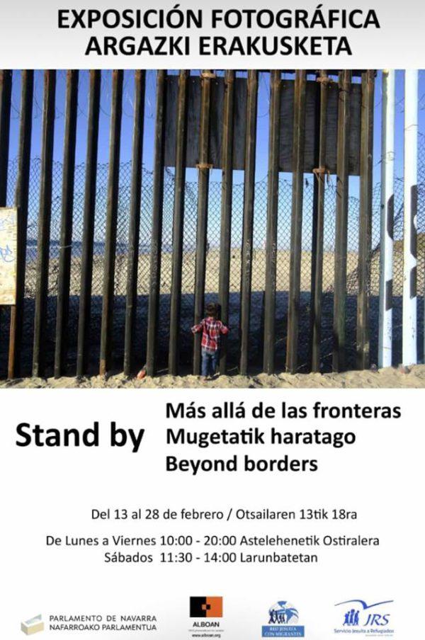 """Exposición """"Stand by: más allá de las fronteras"""""""