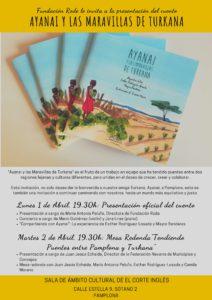 """Presentación de cuento """"Ayanai y las Maravillas de Turkana"""" @ Ámbito cultural de El Corte Inglés"""