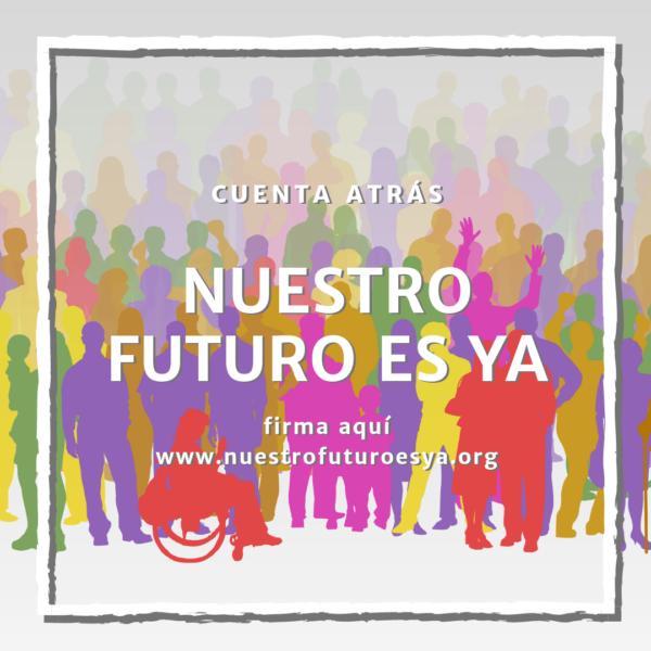 """Nos adherimos a la Campaña """"Cuenta atrás. Nuestro futuro es ya"""""""
