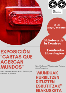 """Exposición """"Cartas que acercan mundos"""" @ Biblioteca de la Txantrea"""