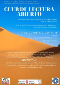 Club de lectura abierto sobre mujeres saharauis