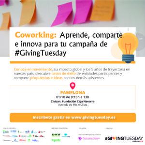 Coworking: aprende, comparte e innova para tu campaña de #GivingTuesday @ Civican