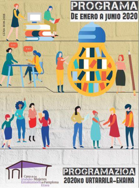 Casa de las mujeres. Programa de enero a junio 2020/ Iruñeko emakumeen etxea. Programazioa 2020ko Urtarrila-Ekaina