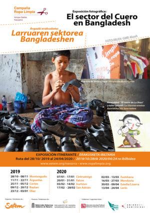 """Exposición Itinerante """"El Sector del cuero en Bangladesh. Coste real de su producción"""" + kamishibai"""