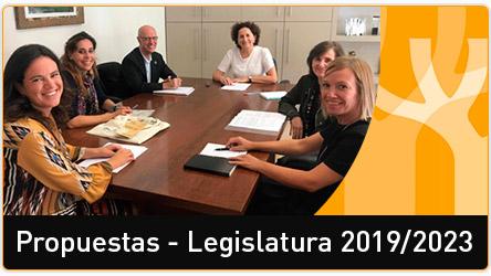 Propuestas de la Coordinadora ONGD Navarra 2019-2023